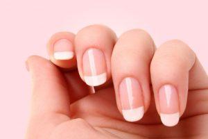 paznokcie po zabiegu manicure japońskiego